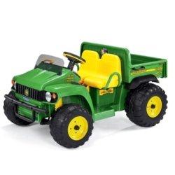 Электромобиль грузовик Peg-Perego John Deere Gator HPX (2х местный, скорость до 7 км/ч, грузовой отсек)